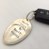 personalized car key ring