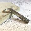 aluminium bar keyring