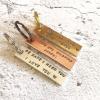 Personalised Rectangle Keyring