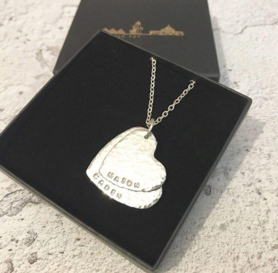 Aluminium Heart necklace