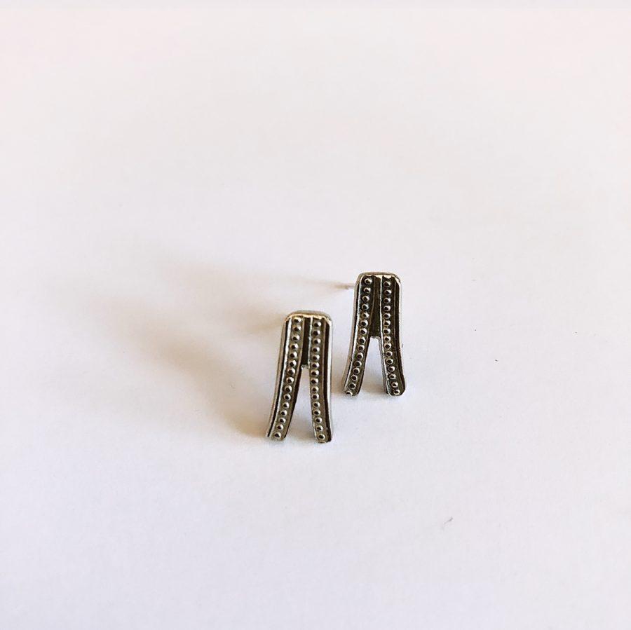 earrings from fork handles