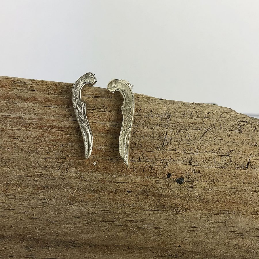 spoon handle ear climbers