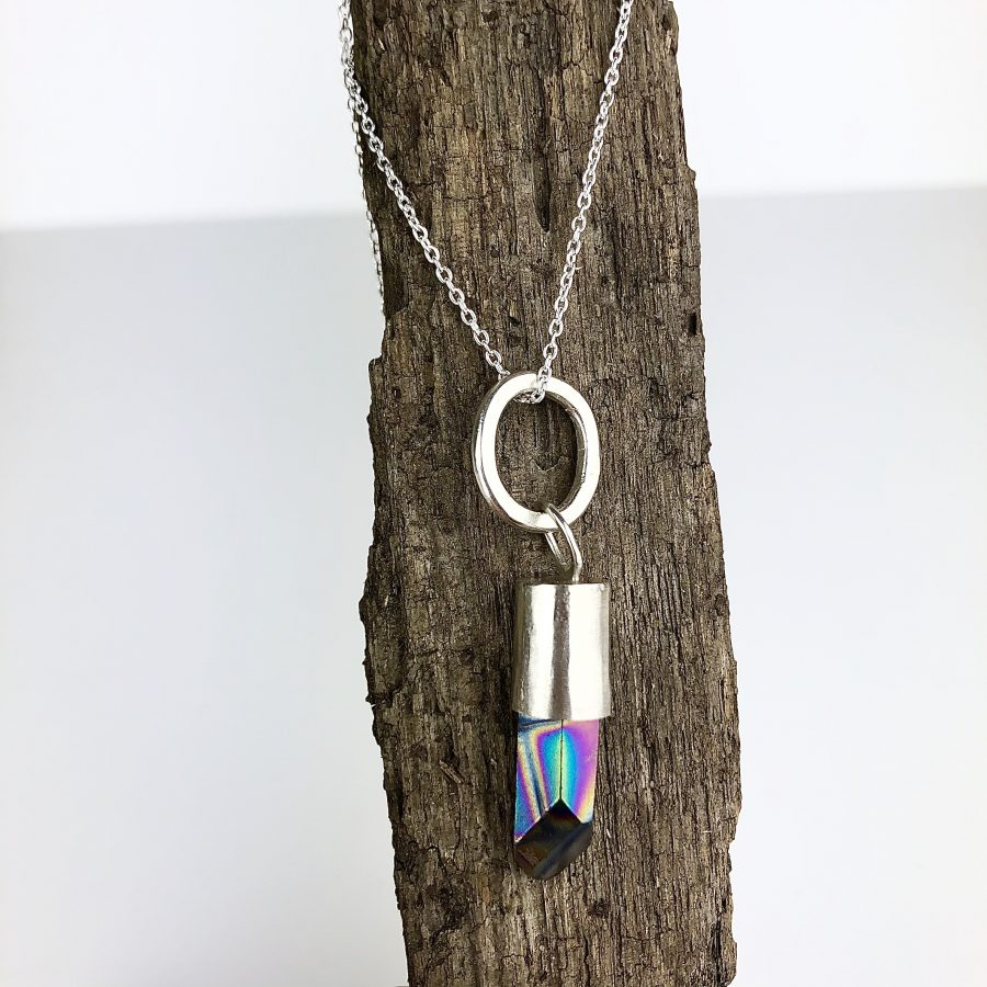 Silver & Quartz Necklace