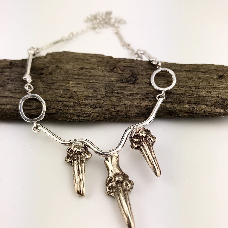 Bone & Claw Necklace