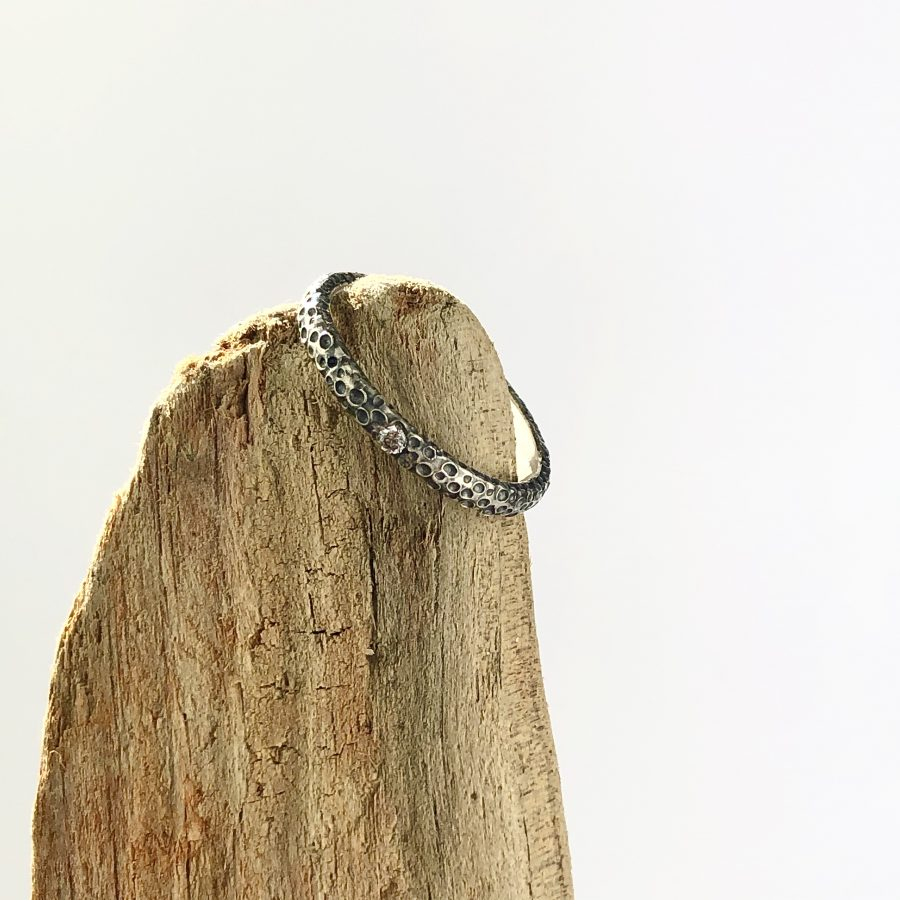 Silver Tentacle Ring