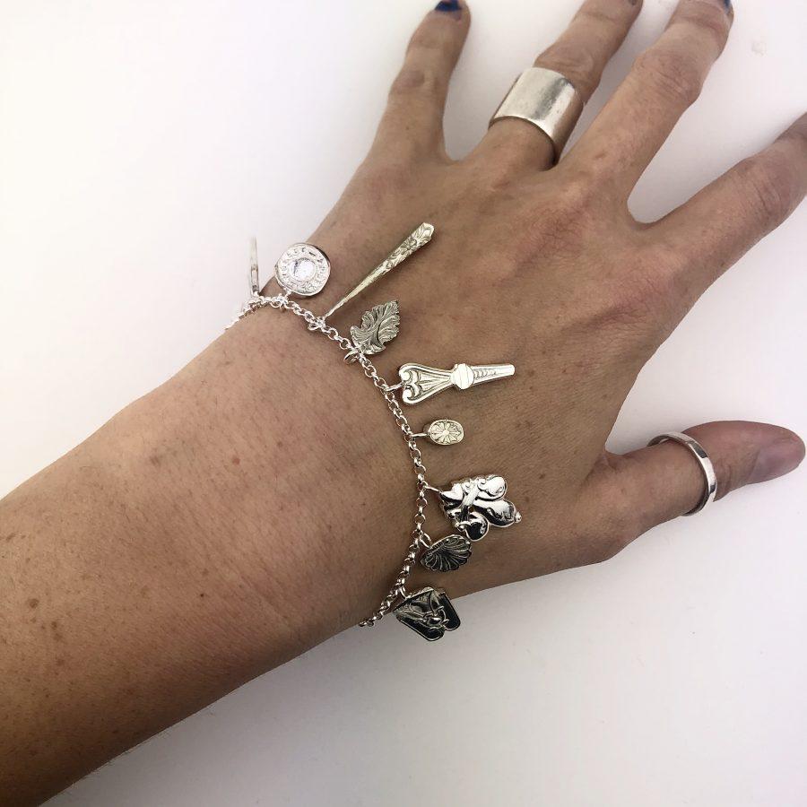 Cutlery Charm Bracelet